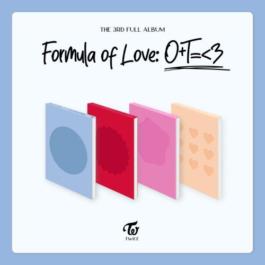 [PREORDER] TWICE – Formula of Love: O+T=<3